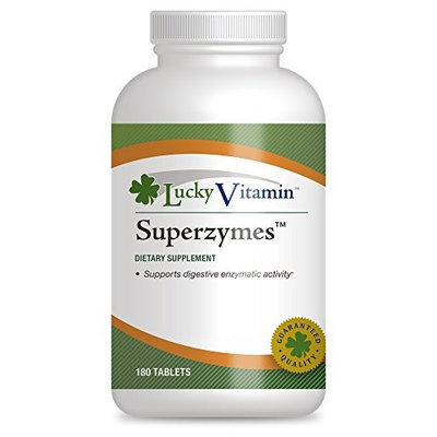 LuckyVitamin - Superzymes - 180 Tablets