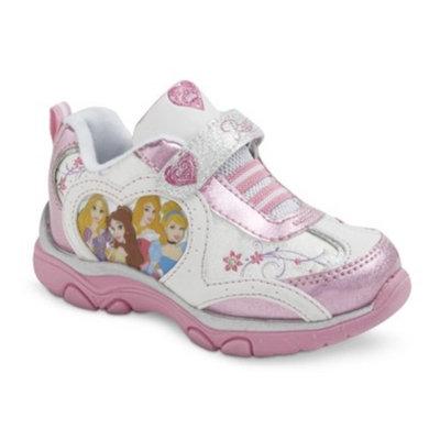 Toddler Girl's Disney Princess Light Up Sneakers - Pink 11