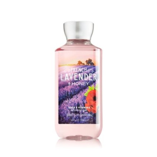 Bath & Body Works French Lavender & Honey Shower Gel 10 oz/295g