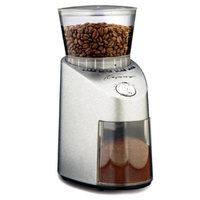 Capresso 565 Infinity Stainless Steel Conical Burr Grinder + Coffee Grinder Dusting Brush + 3-pack 35G Grindz Coffee Gri