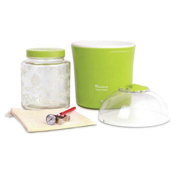 Euro Cuisine 2-qt. Yogurt and Greek Yogurt Maker with Glass Jar