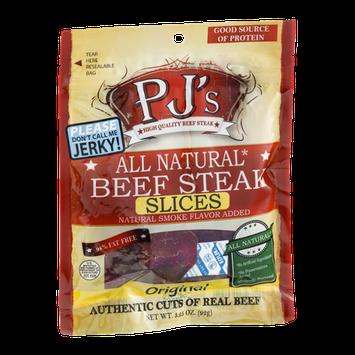 PJ's Beef Steak Slices Original