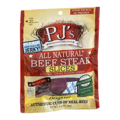 PJ's Beef Steak Slices Original