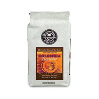 TheCoffee Bean & Tea Leaf, Hand-Roasted, Medium Roast, Colombia Ground Coffee, 12-Ounce Bags (Pack of 2)