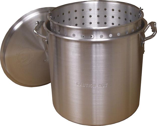 King Kooker Aluminum Boiling Pot 22 qt