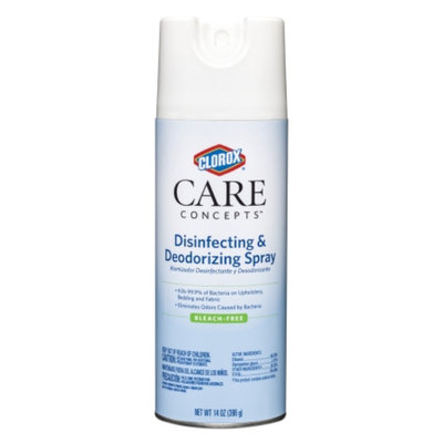 Clorox CareConcepts Disinfecting and Deodorizing Spray, 14 oz