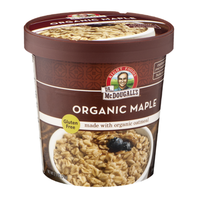 Dr. McDougall's Gluten Free Oatmeal Organic Maple