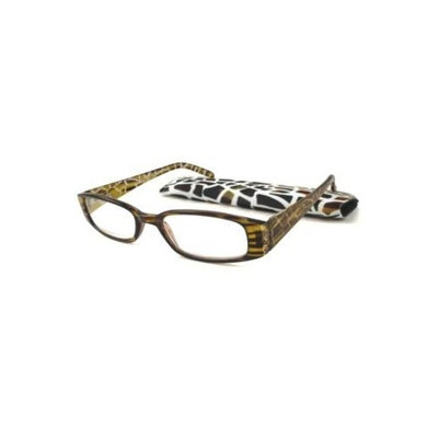 ICU Eyewear Reading Glasses w/ Giraffe Pattern - +2.00
