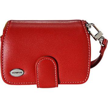 Olympus Premium Slim Leather Case (Red) 202085