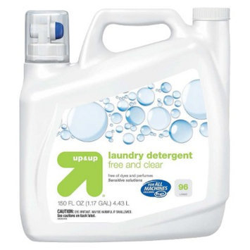 up & up Free & Clear Liquid Laundry Detergent 150 oz