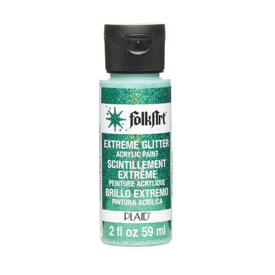 Plaid Enterprises PLA2794 2 Oz. Folkart Extreme Glitter - Emerald Pack Of 3