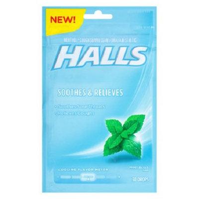 HALLS Mint Bliss Cough Menthol Drops
