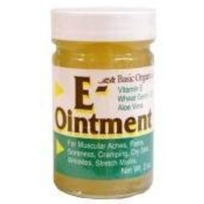 Vitamin E Vitamine E Natural Ointment - 4 Oz