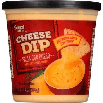 Great Value Salsa Con Queso Cheese Dip, 14 oz
