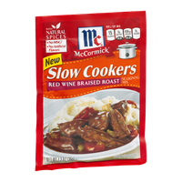 McCormick Slow Cookers Red Wine Braised Roast Seasoning Mix
