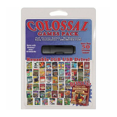 Pazzles 4GB USB Colossal Games Pack