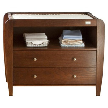 Lolly & Me McKinley Combo Changer Dresser - Chocolate