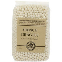 India Tree Oyster Pearl Dragees, Size 5, 16 oz