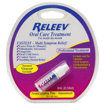 Releev Oral Care Treatment, .1 fl oz