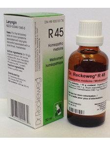 Laryngin Formula R45 50 ml by Dr. Reckeweg