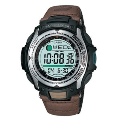 Casio Mens Fishing Timer Watch Moon Age Vibrate