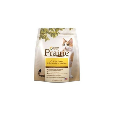Prairie Chicken Meal & Brown Rice Medley Dry Cat Food by Nature's Variety, 6-Pound Bag