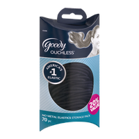Goody Ouchless No Metal Elastics Storage Pack - 70 CT