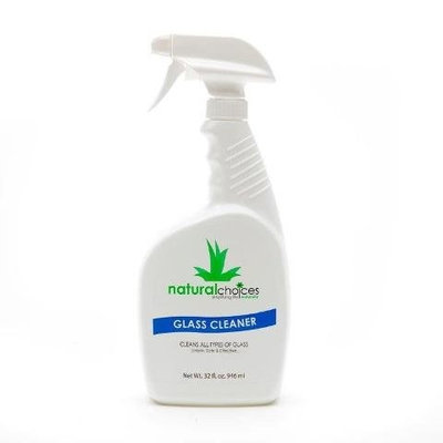 Natural Choices Choices Glass Cleaner