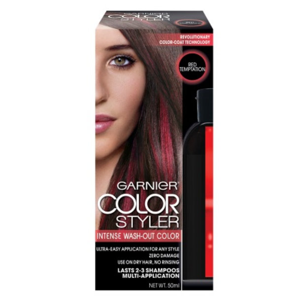 Garnier Color Styler Intense Wash-Out Haircolor - Red Temptation