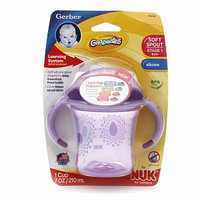 NUK Gerber Graduates Learning System Soft Spout Cup with Handles