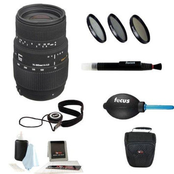 Sigma 70-300mm f/4-5.6 SLD DG Macro Lens with built in motor for Nikon Digital S