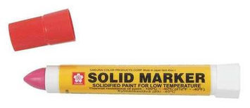 SAKURA XSC-T-19 Paint Marker,13mm, Red, PK12