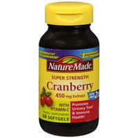 Nature Made Cranberry 450mg Extract with Vitamin C