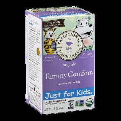 Traditional Medicinals Tummy Comfort Kids Herbal Tummy Ache Tea Bags - 18 CT
