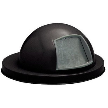 Witt Expanded Metal Series Heavy Duty Dome Top Cover Finish: Powder Coat Black