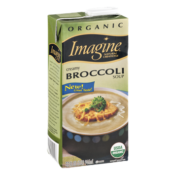 Imagine Soup Creamy Broccoli Organic