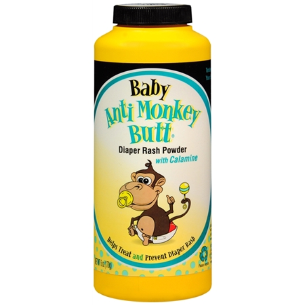 Anti Monkey Butt Diaper Rash Powder with Calamine