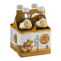 Grown-Up Soda Extra Dry Ginger Ale - 4 CT