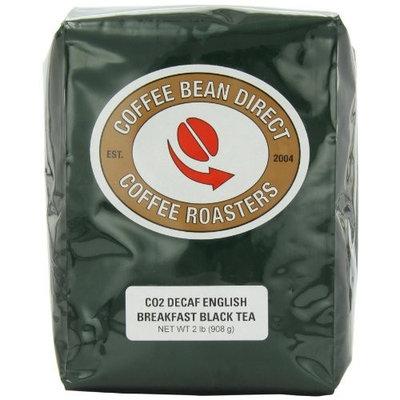 Coffee Bean Direct Decaf English Breakfast Loose Leaf Tea, 2 Pound Bag