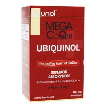 Qunol Mega CoQ10 100 mg Dietary Supplement Softgels