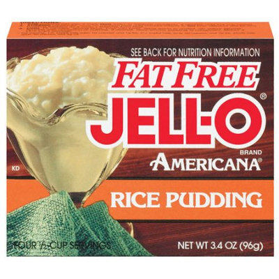 JELL-O Americana Rice Fat Free Pudding