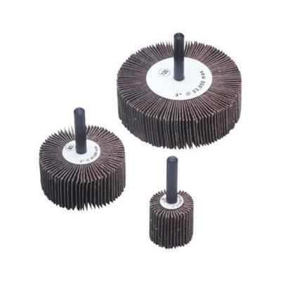 CGW Abrasives Flap Wheels - 2x1x1/4 alum oxide 120 grit flap wheel (Set of 10)
