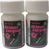Ultimate Energizer Ef 2 Bottles 24 Capsules ea.(Dietary Supplement)