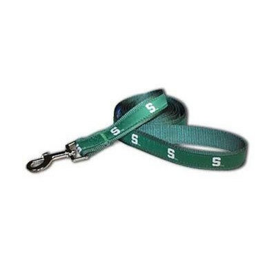 Sporty K9 Michigan State Dog Leash, 6-Feet by 1-Inch