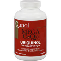 Qunol Mega CoQ10 Ubiquinol Dietary Supplement