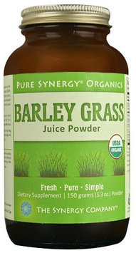 The Synergy Company Pure Synergy Organics Barley Grass Juice Powder 5.3 oz