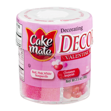 Cake Mate Decors Valentine Mix