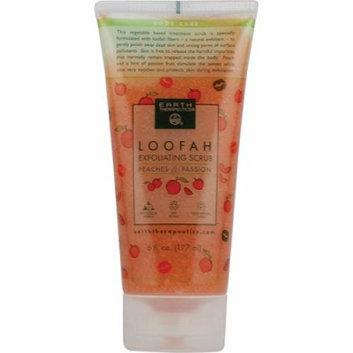 Earth Therapeutics Loofah Exfoliating Liquid Scrub Peach and Passion 6 fl oz