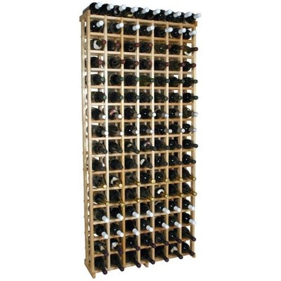 Wine Cellar Innovation Redwood Grid 115 Bottle Wine Rack