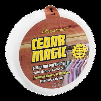 Cedar Magic Solid Air Freshener